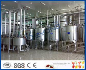 Industrieller Jogurt, der Maschine herstellt