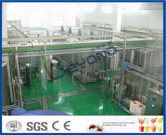 Fruchtsaft-Produktlinie