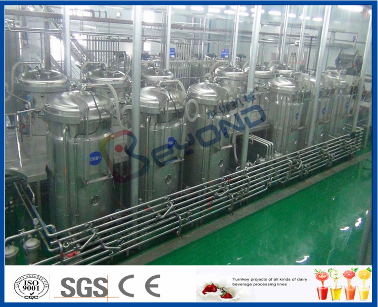 Soft Beverage Industry Cool Drinks Making Machine 5000 - 6000BPH ISO9001 / CE / SGS