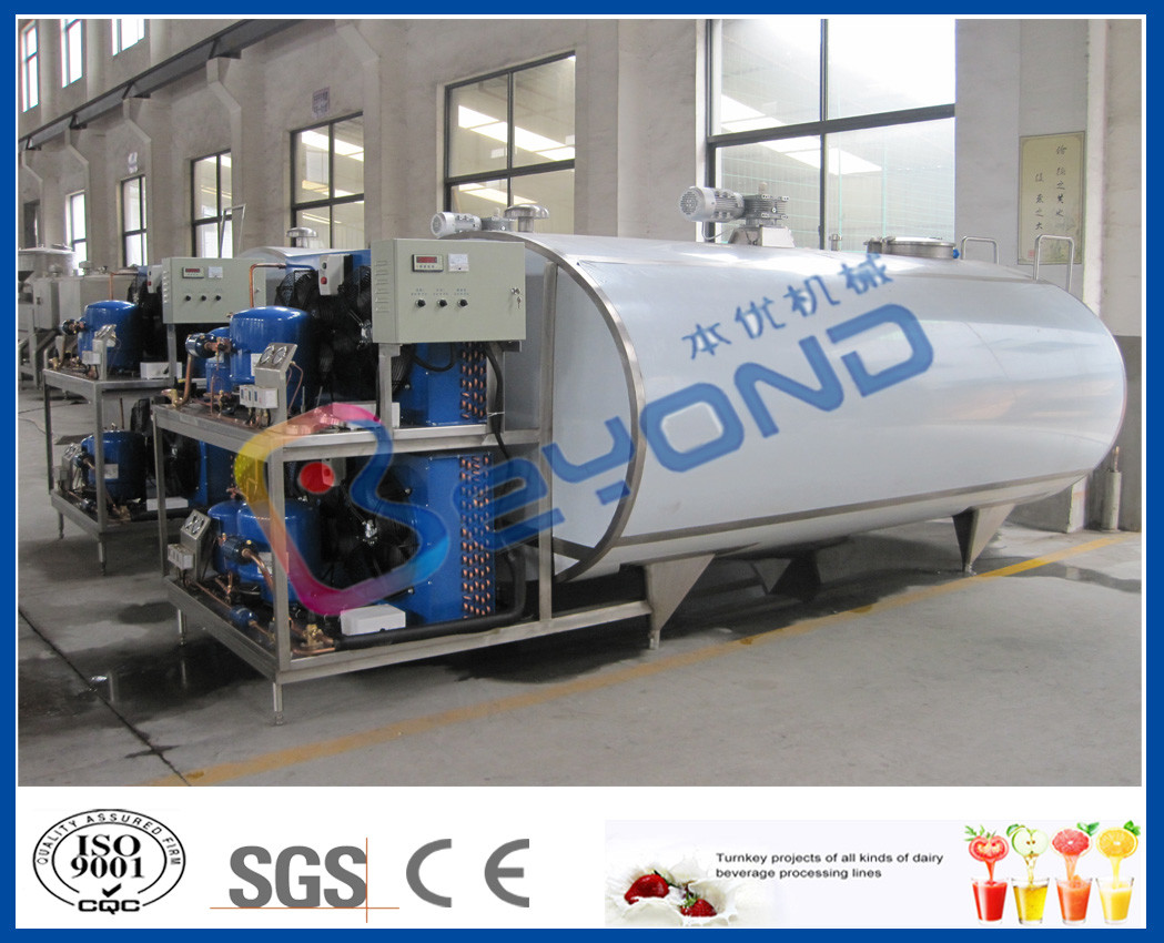 Milchkühlungs-Edelstahl-Behälter für Abkühlen/Speicherfrische Milch ...