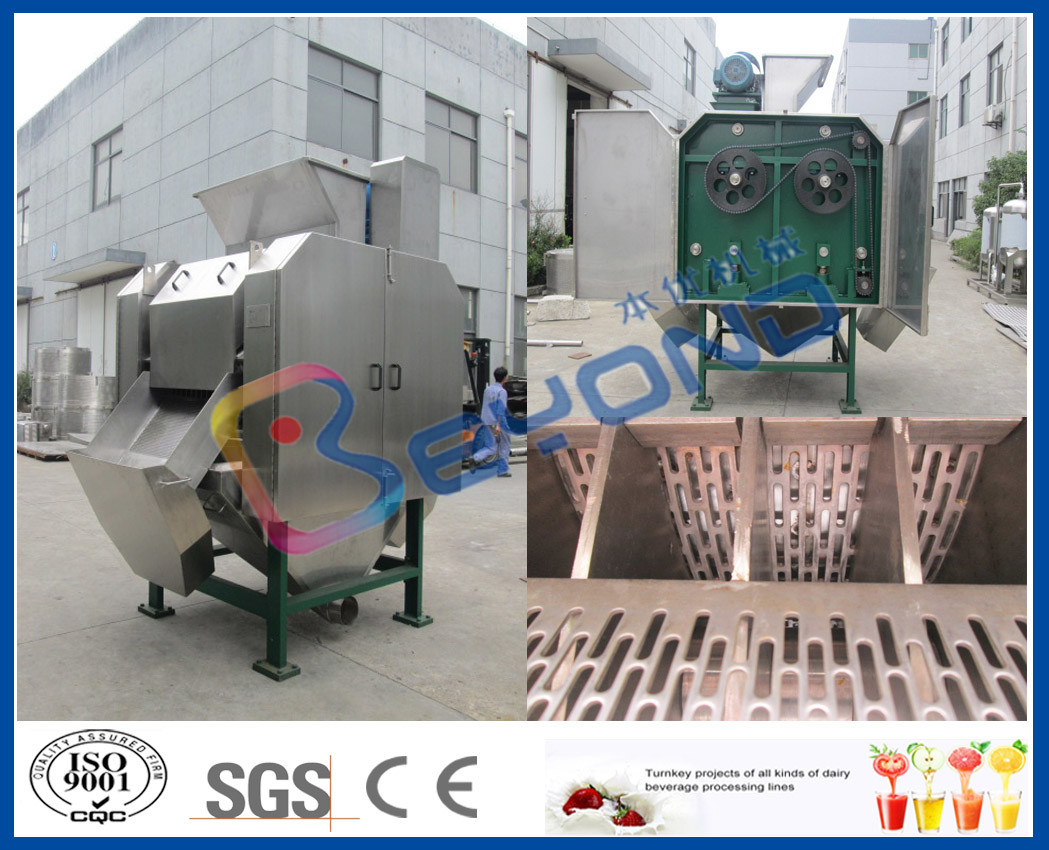 Fruit And Vegetable Washer Fruit Processing Equipment For Cleaning / Washing