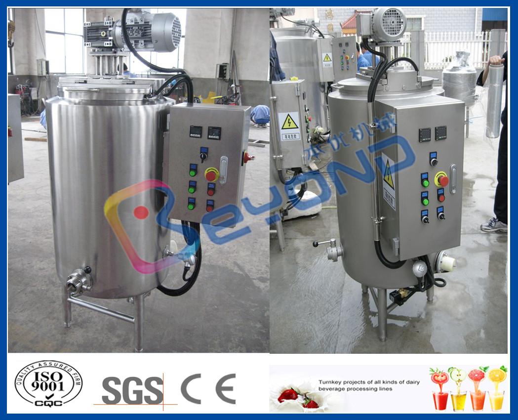 Edelstahl-Behälter ISO 200L 300L für die Schokolade, die mit dem ...