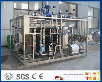 Plc-Touch Screen Milch-Pasteurisierungs-Ausrüstung mit Platten-Wärmetauscher