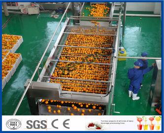 automatischer Auszug-orange Produktlinie des Orangensaft-10TPH für den Saft, der Fabrik macht