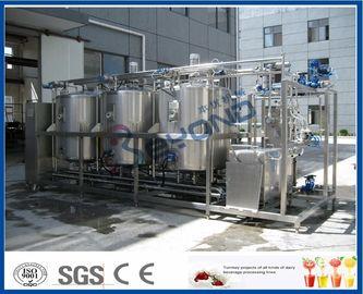 1000L - 10000L, das an der richtigen Stelle System, CIP-System-Milchindustrie mit 4 Behälter-Doppelleitungen säubert