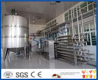 Aseptische Verfahrens-Milch-Pasteurisierungs-Ausrüstung für Milchverarbeitungs-Anlage